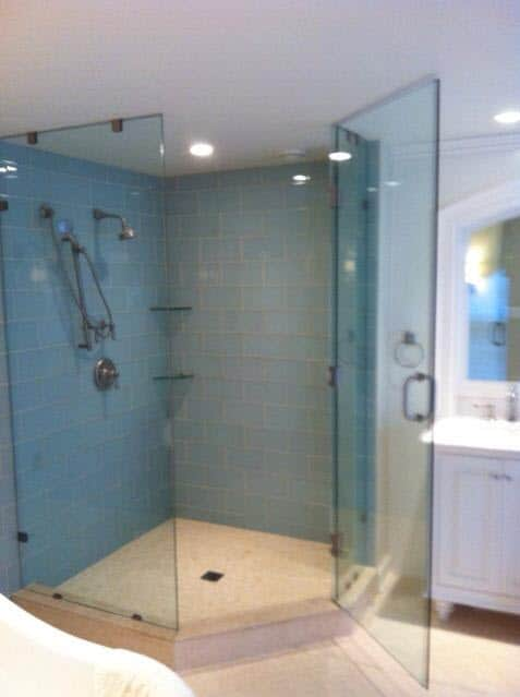 pottstown shower glass