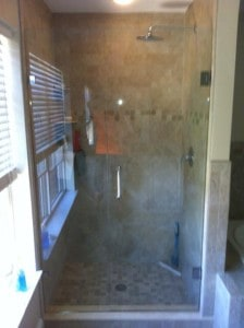 Pottstown Shower Glass Installation