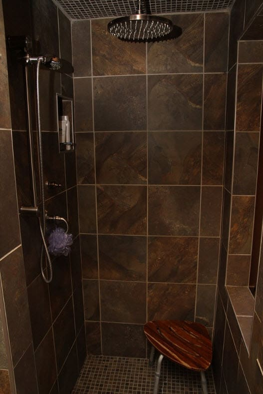 pottstown inside shower renovation